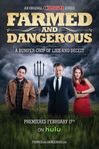 """Farmed and Dangerous"" Movie Poster"