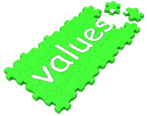 Values Puzzle Shows Principles And Morality